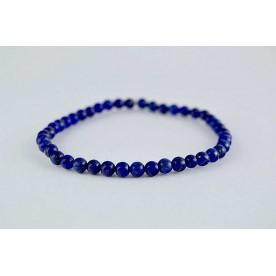 Bratara 4mm Lapis Lazuli tip2