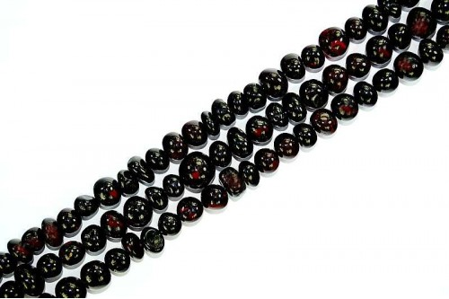 Margele Chihlimbar Cherry 6mm