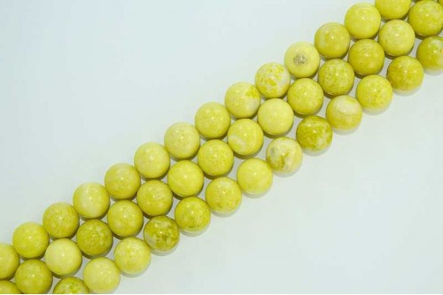 Margele Jad Lime 12mm