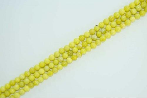 Margele Jad Lime 6mm