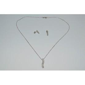 Set Argint 925 (lantisor, pandantiv, cercei) tip1