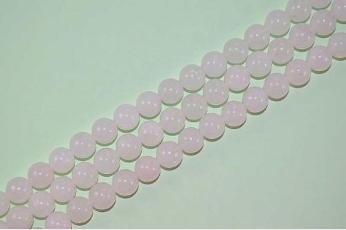 Margele Cuart roz 10mm