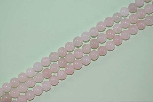Margele Cuart roz 8mm