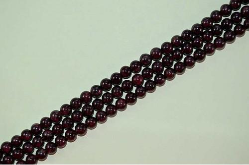 Margele Granat 6mm