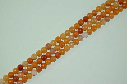 Margele Jad Honey 6mm