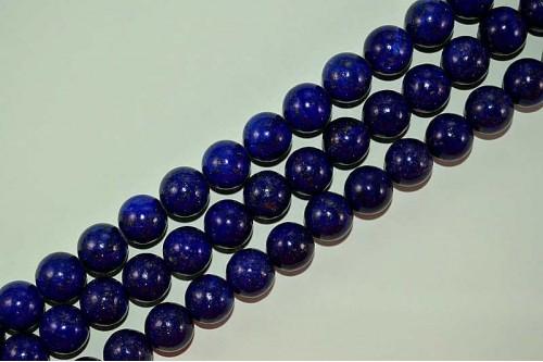 Margele Lapis Lazuli (tip2) 12mm