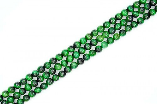 Margele Ochi de Tigru Verde 6mm