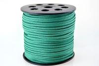Snur suede 3x1mm (1metru) - verde