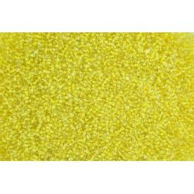Margele de nisip galben 2mm (50 gr., 2500buc)