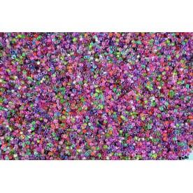 Margele de nisip mix 2mm (50 gr., 2500buc)