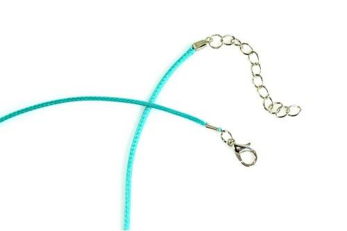 Snur silicon cu inchizatoare - smarald