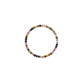 Bratara 4mm Turmalina Multicolora