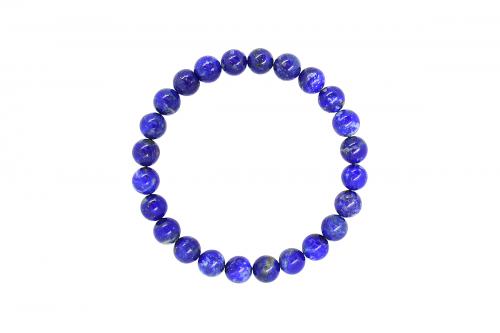 Bratara 8mm Lapis Lazuli tip1