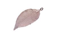 Pandantiv frunza fucsia
