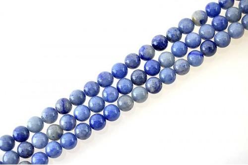 Margele Aventurin Albastru 10mm
