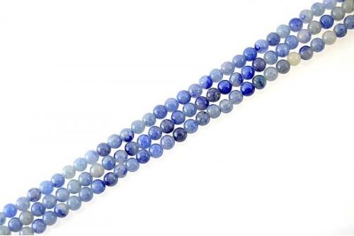 Margele Aventurin Albastru 6mm