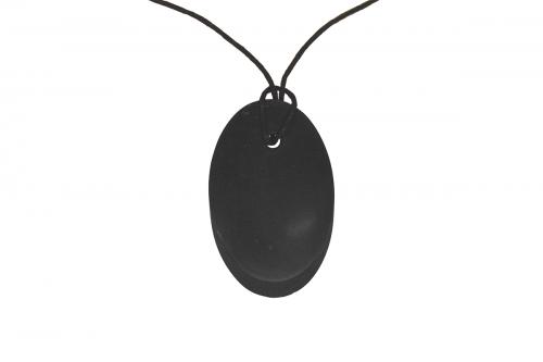Pandantiv Shungit oval 50x32x5mm