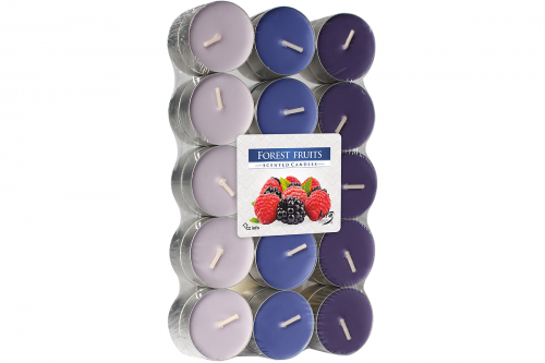 Lumanari parfumate pastila 4h (30buc.) Forest Fruits (Fructe de Padure)