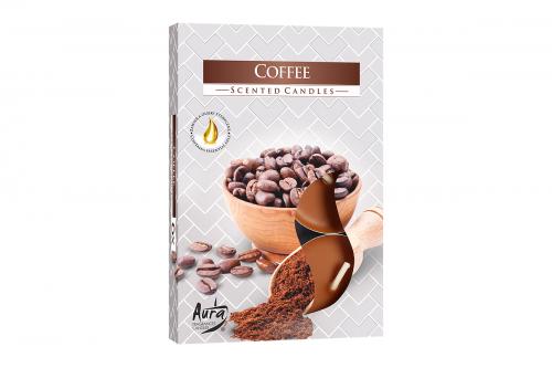 Lumanari parfumate pastila 4h (6buc.) Coffee (Cafea)